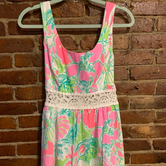 Lilly Pulitzer Dresses & Skirts - Lilly Pulitzer Rosemarie Printed Scoop Neck Dress